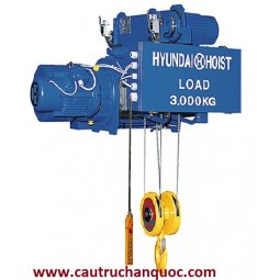 Sửa chữa Palang cáp điện Hyundai 3 tấn 62m dầm đơn