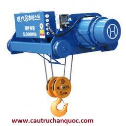 Sửa chữa Palang cáp điện Hyundai 10 tấn 12m dầm đôi
