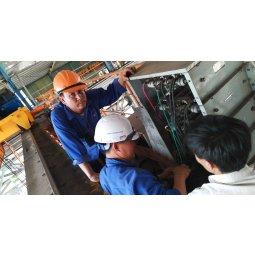 Sửa chữa Cầu trục dùng tủ trở xả ở tỉnh Yên Bái