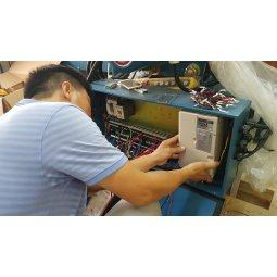 Cải tạo nâng cấp Palang cầu trục 1 tốc độ lên 2 tốc độ dùng biến tần