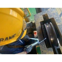 Bảo dưỡng định kỳ tra dầu mỡ bánh xe cầu trục và palang cầu trục Hàn Quốc