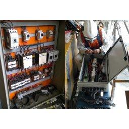 Cải tạo đấu nối hệ thống tủ điện điều khiển cầu trục nhiều chức năng
