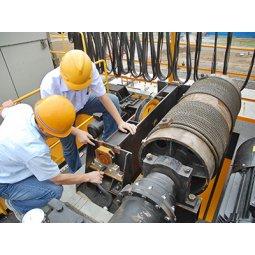 Xử lý sự cố tiếng kêu của Palang cầu trục nhà máy thép Hoà Phát