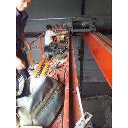 Bảo trì thay thế chổi tiếp điện 3P cho cầu trục tại tỉnh Nghệ An