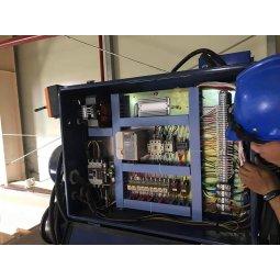 Cải tạo đấu nối hệ thống tủ điện điều khiển cầu trục 30 tấn tại Hải Phòng