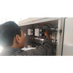 Sửa lỗi tủ điện Palang bị chập cháy gây sự cố cháy motor nâng tại Lạng Sơn